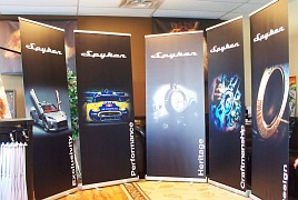 Calgary rollup banners